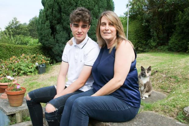 North Wales Pioneer: Nicola Jones and son Owen. Picture: Kerry Roberts, KR050719a