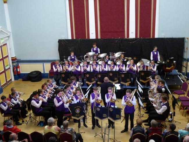 The Lions youth brass band
