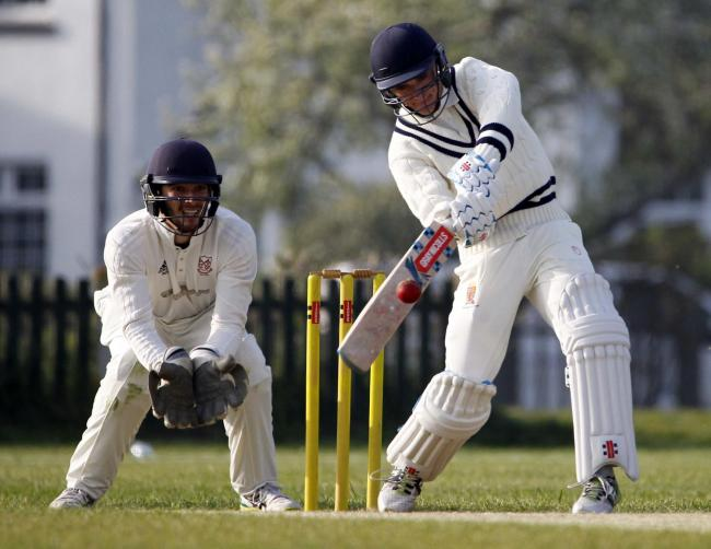 Will Sissons hit 44 not out for Llandudno