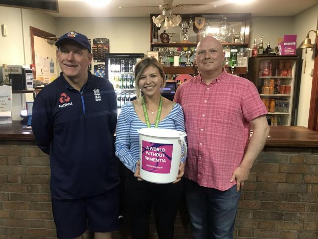 Llandudno Cricket Club held two fundraising events earlier this month