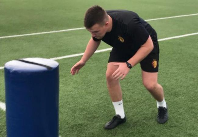 Sam Williams has joined RGC from Scarlets Academy (Photo: @RGCNews Twitter)
