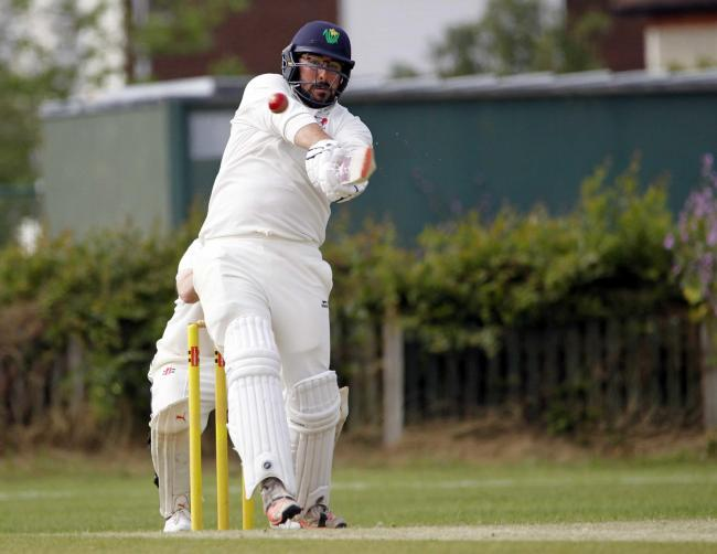 Sam Rimmington was out cheaply in Llandudno's defeat