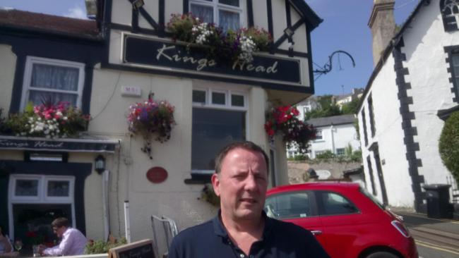 Stephen Reese landlord of the King's Head