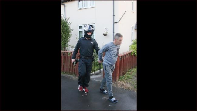 15 people remain in custody following the Operation Tide raids across North Wales. Picture: Kerry Roberts