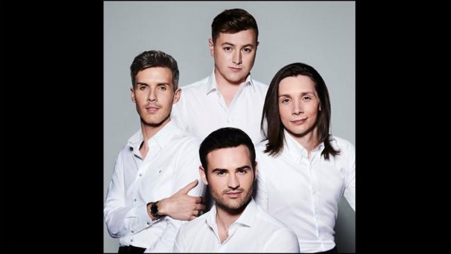 Collabro will return to Venue Cymru next October. Picture: Facebook/ Collabro