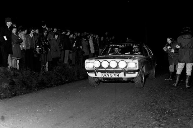 BYGONES: The RAC Rally at Clocaenog Forest back in 1974