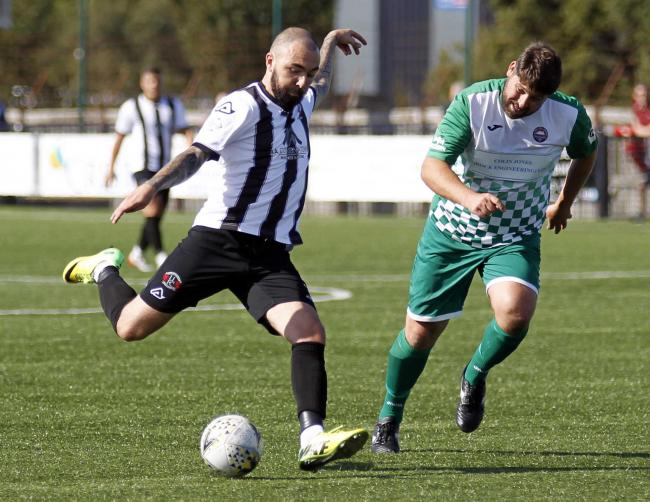 Robbie Parry went close on two occasions for Llandudno