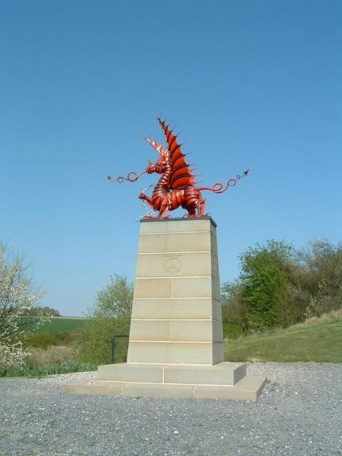 North Wales Pioneer: The Memorial to the 38th(Welsh) Division at Mametz Wood. Picture: Allan George