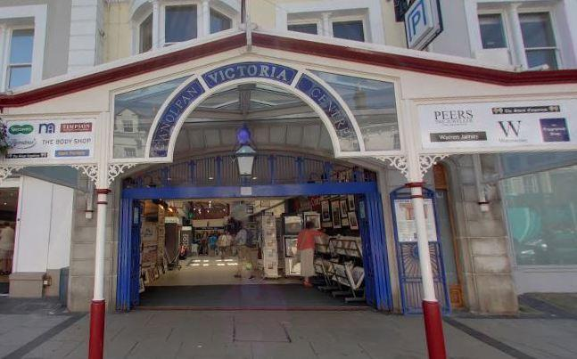 Llandudno Victoria Shopping Centre. Picture: GoogleMaps
