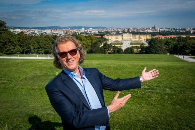 Celebrate the new year with Andre Rieu. Picture:Marcel van Hoorn