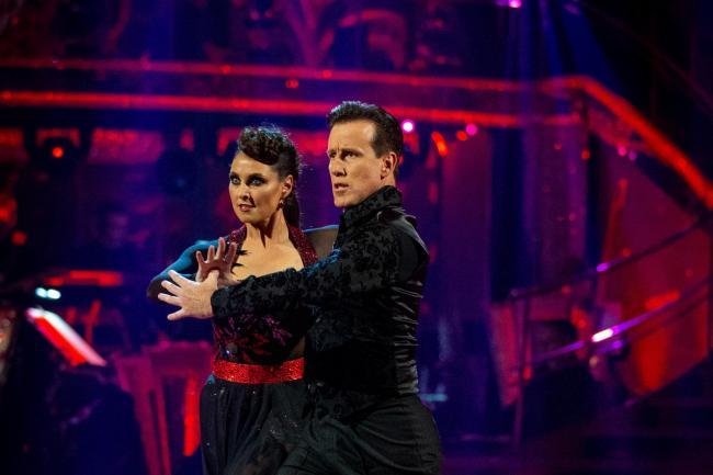 Emma Barton and Anton Du Beke on Strictly Come Dancing