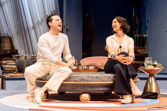 NT Live: Present Laughter will be screened at Theatr Colwyn. Picture: Manuel Harlan