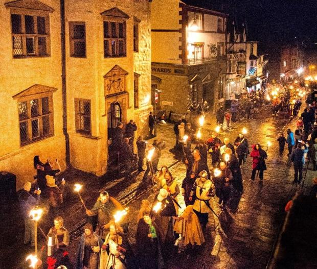 North Wales Pioneer: Conwy's torch light parade