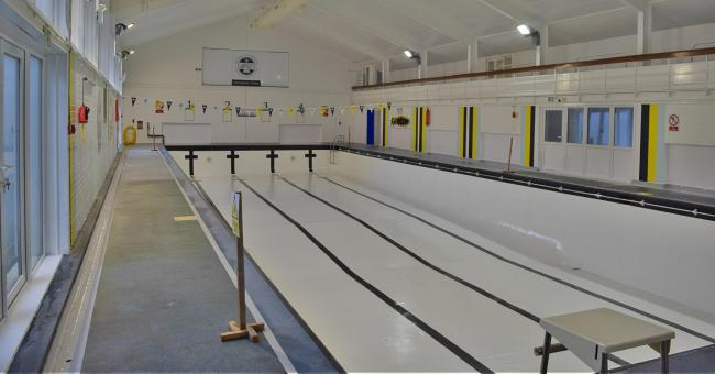 Rydal Penrhos' refurbished swimming pool