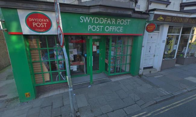 The Post Office in Conwy is closing. Picture: GoogleMaps