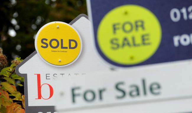 Conwy house prices dropped in November
