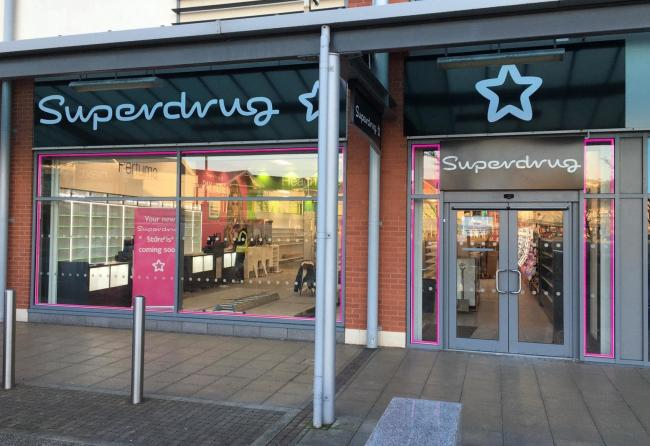 Superdrug is to open at Parc Llandudno. Picture: Superdrug Llandudno / Facebook