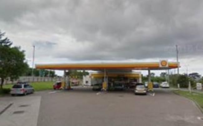The Shell garage. Picture: GoogleMaps