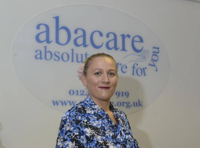 Ffion Evans, Branch Manager at Abacare.