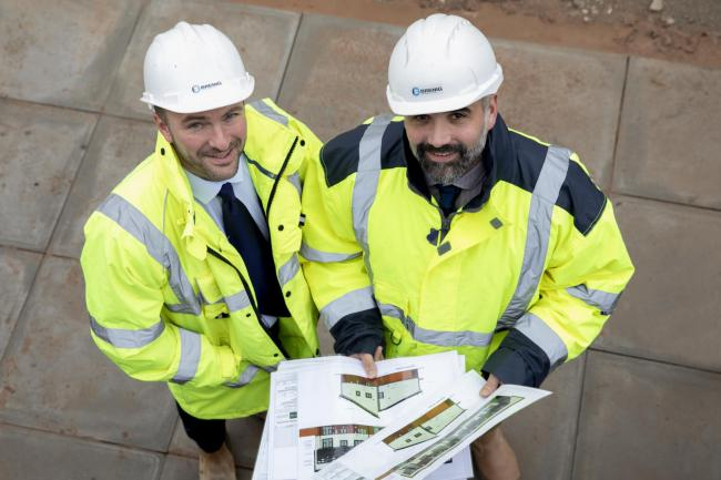 Mark Parry and Howard Vaughan,