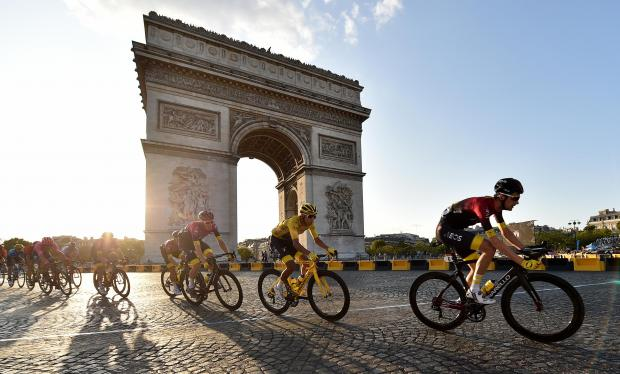 North Wales Pioneer: Tour de France. Picture: PA Wire