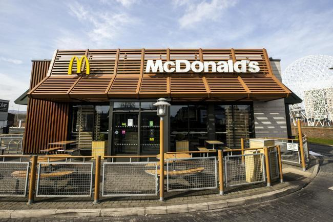 McDonald's has reopened several drive-thrus in North Wales.