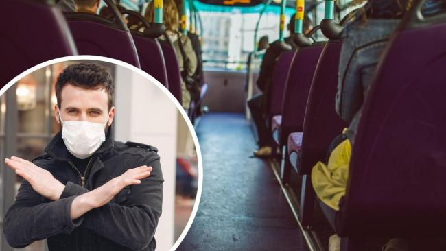 Face coverings will become a legal requirement to use public transport across Wales from today