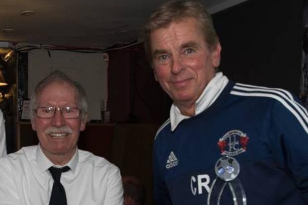 Former Llandudno chairman Clive Rushton (right) is stepping away from the club