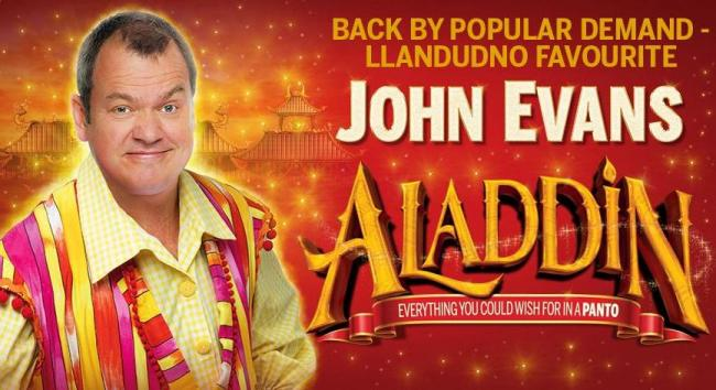 John Evans was due to star following popular demand, Llandudno comedy favourite - John Evans. The show has seen been postponed. Picture: Venue Cymru