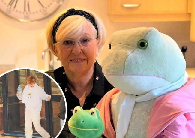 Lyn, who previously lived in Wilmslow, has launched a new business and written an autobiography to tell her life story