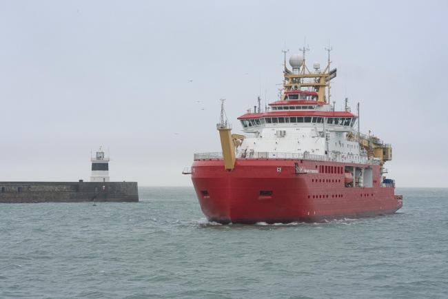 RRS Sir David Attenborough. Picture: Holyhead Shipping Ltd, photographer Al Disley Images