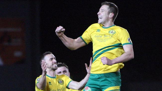 Gareth Edwards opened the scoring for Caernarfon Town