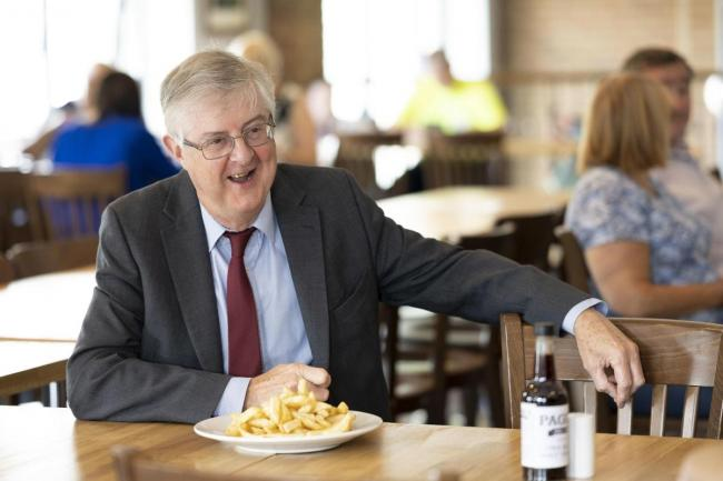 Wales' First Minister Mark Drakeford.
