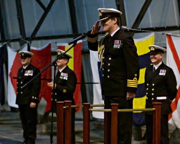 North Wales Pioneer: A special ceremony was held at the Royal Naval School of Flight Deck Operations at RNAS Culdrose to mark the completion of training for 19 new sailors. Picture: Royal Navy