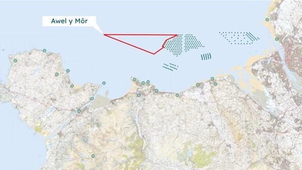 Awel y Mor Offshore Wind Farm. Picture: Awel y Mor consultation/screengrab