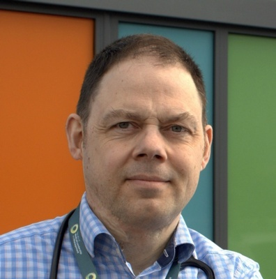 Dr Chris Stockport, BCUHB's COVID-19 Lead and Executive Director of Primary and Community Care