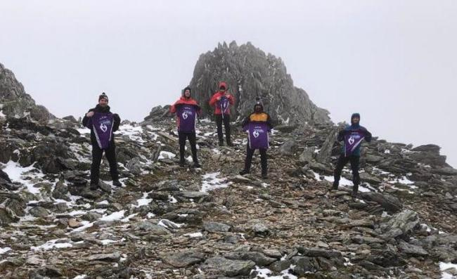 Six men, from Conwy and Denbighshire, decided to take on the mammoth challenge