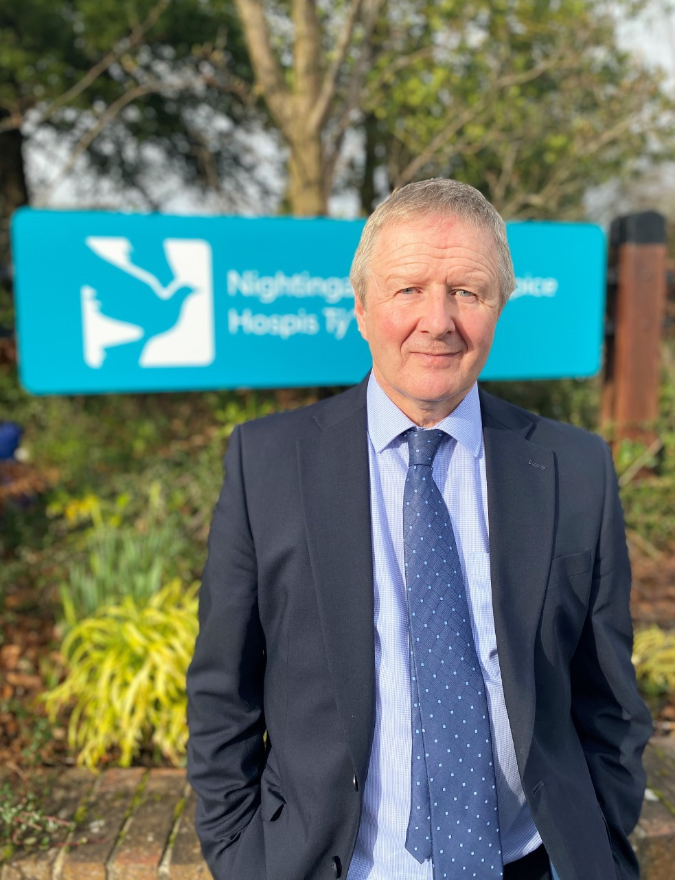 Steve Parry, chief executive of Nightingale House Hospice.