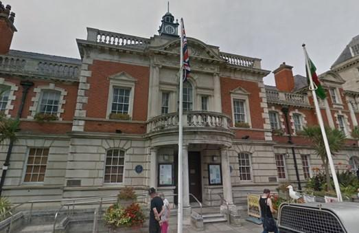 Llandudno Town Hall. Picture: Google Maps