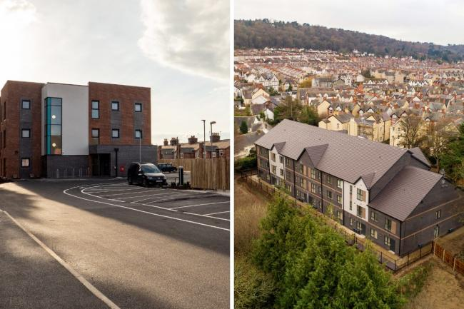 Edelwiess and Albion Development by Anwyl Partnerships