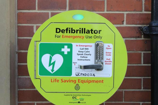 Defibrillator stock