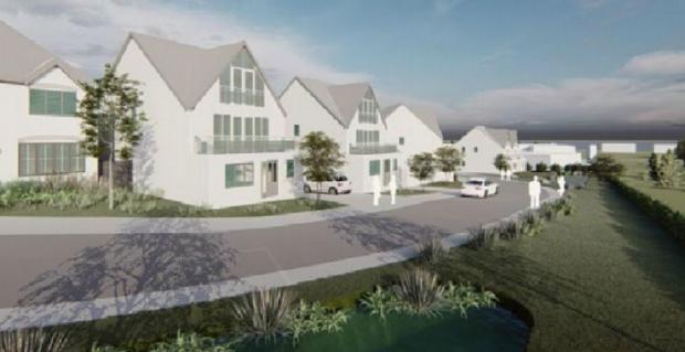North Wales Pioneer: An artist impression of how the scheme could look Pic: Anwyl (clear for use by all partners)