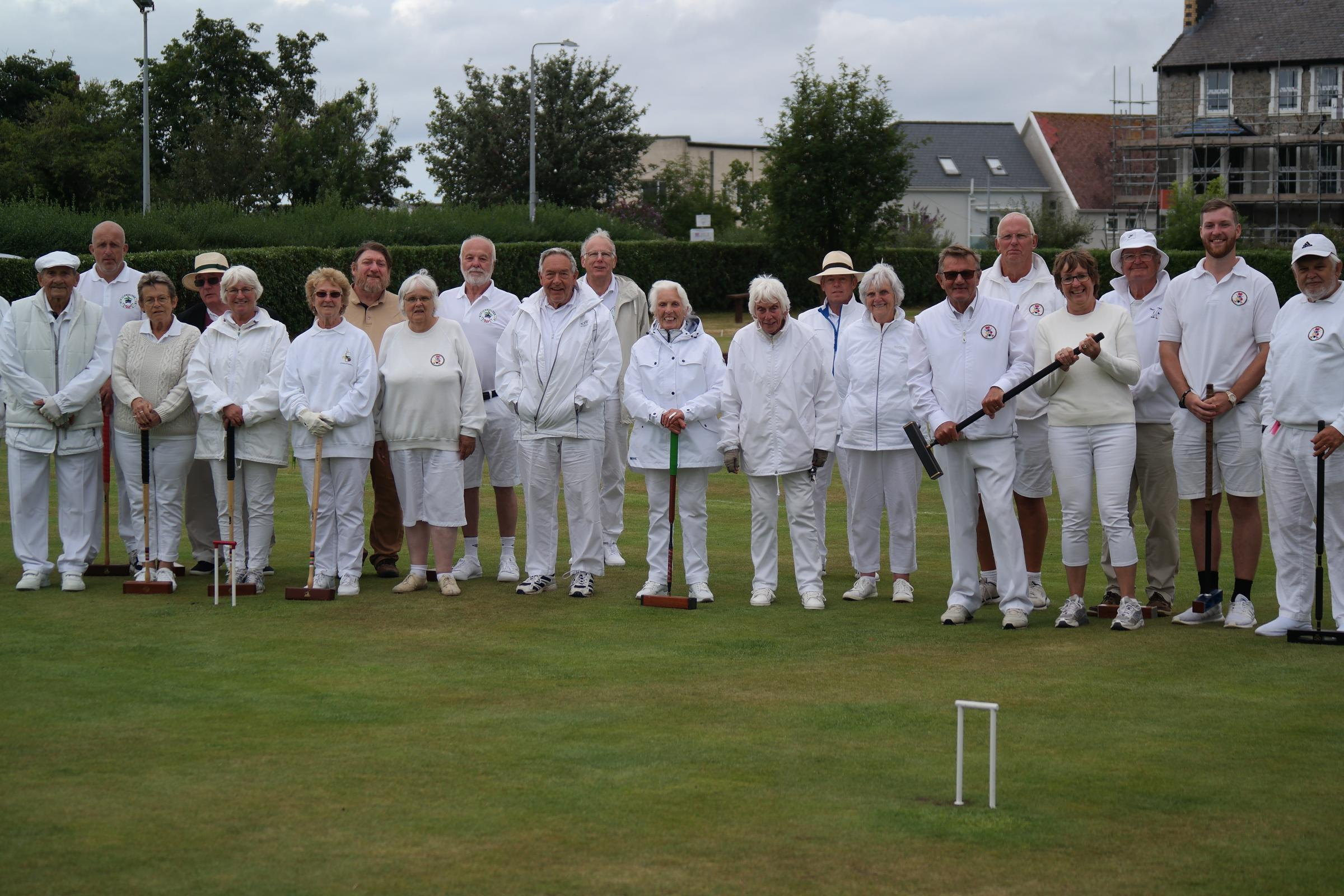 Llanfairfechan make golf croquet ultimate after internet hosting competitors for the primary time