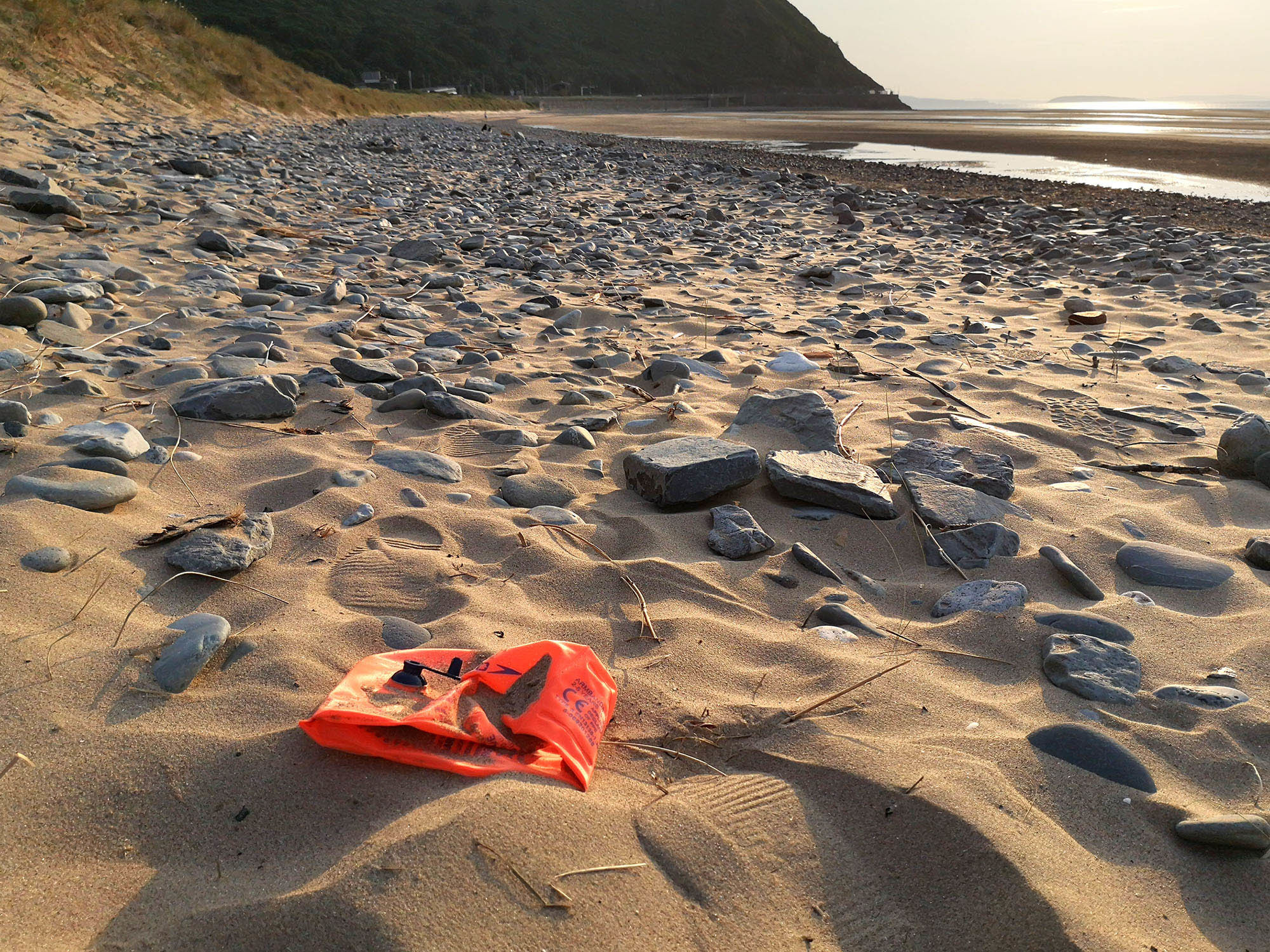 Abandoned armband Conwy beach