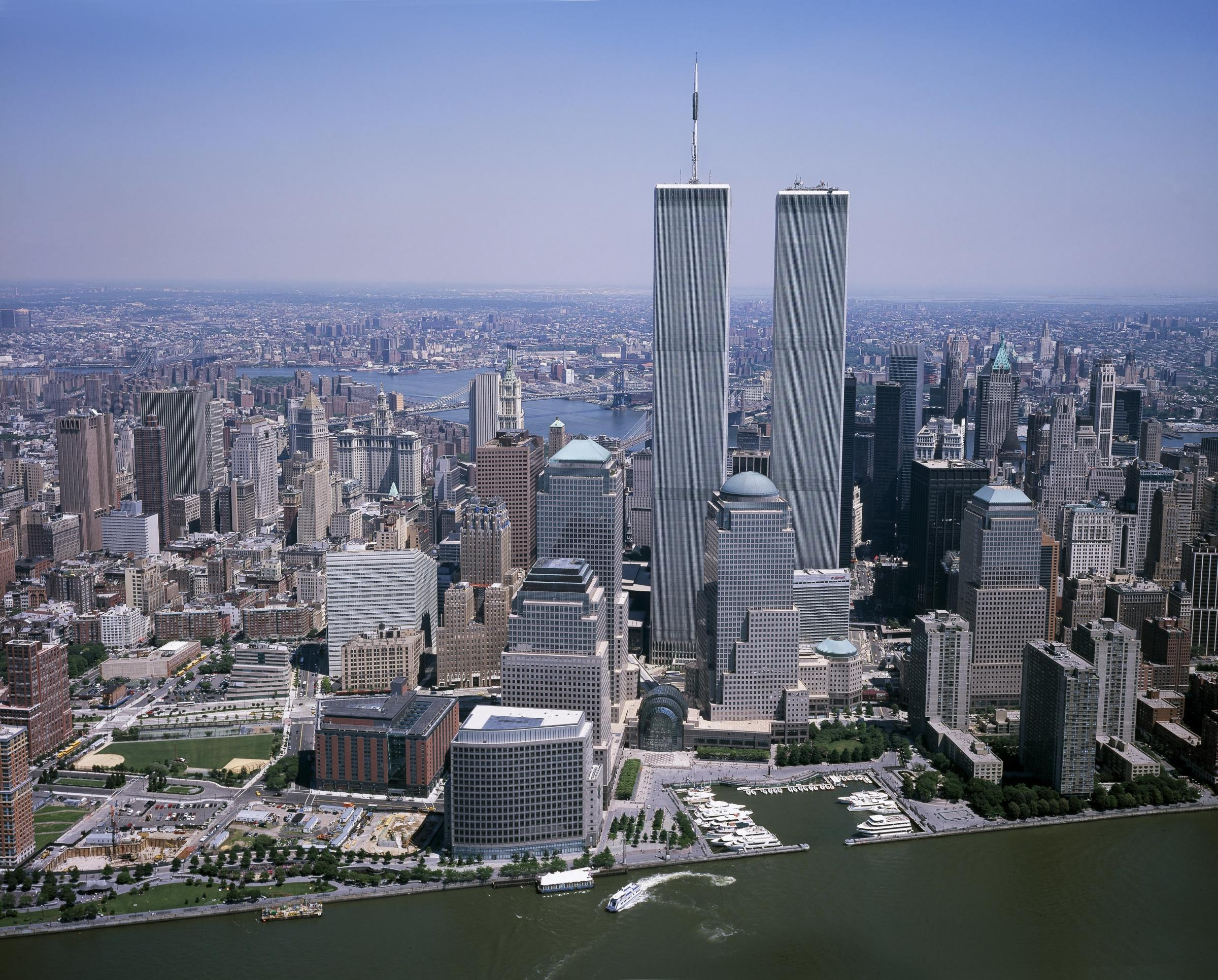 The World Trade Centers prior to 9/11. Picture: Pixabay.