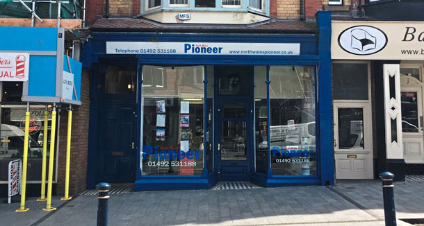 North Wales Pioneer: Pioneer Office