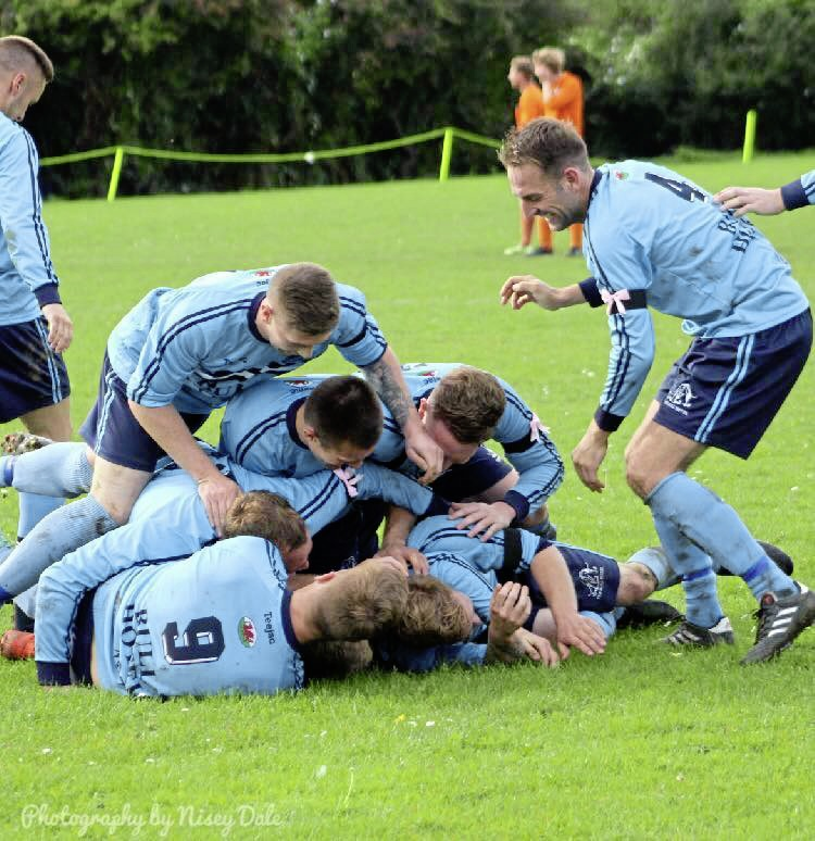 Kinmel Bay are now four points clear (Photo: Nisley Dale)