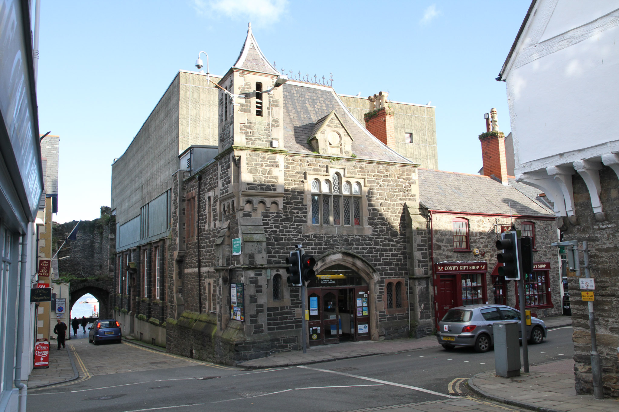 Conwy Civic Hall and Library. Picture: Kerry Roberts, KR261117g