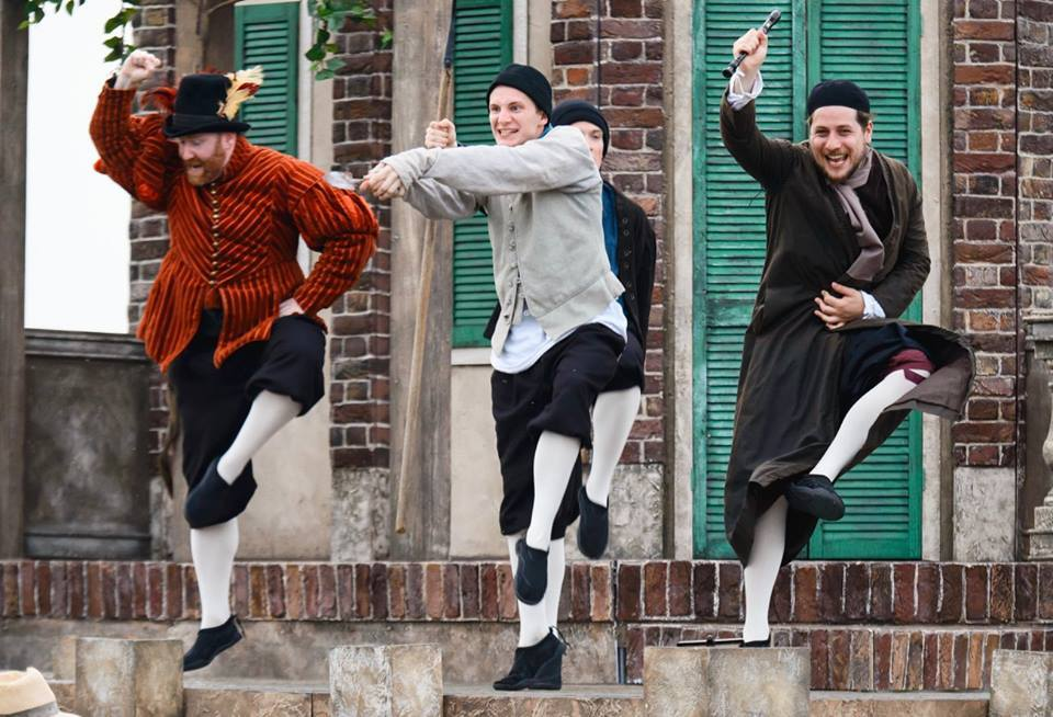 The Lord Chamberlain's Men bring their all male cast back to Conwy for The Tempest. Picture: Facebook/The Lord Chamberlain's Men