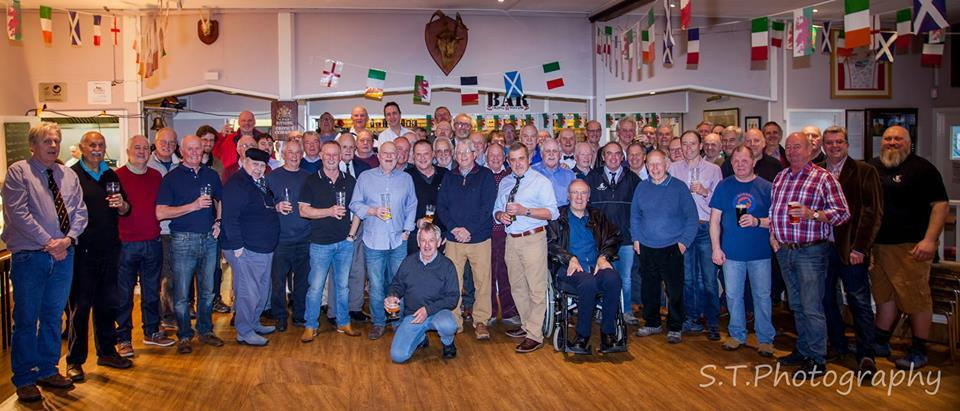 Past players belonging to Llandudno Rugby Club came together for the reunion. Picture: Steven Tustin - S T Photography